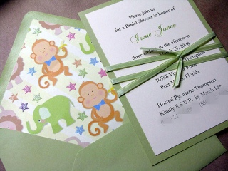ifyou know the gender of the baby baby shower invitation etiquette