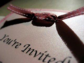 etiquette for invitations
