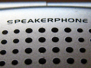 Speakerphone etiquette tips