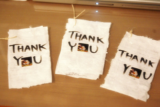 thank you note etiquette
