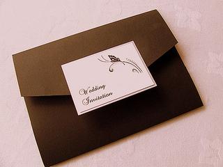 wedding invitation etquette