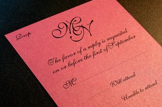 Wedding rsvp etiquette for Rsvp stand for on an invitation