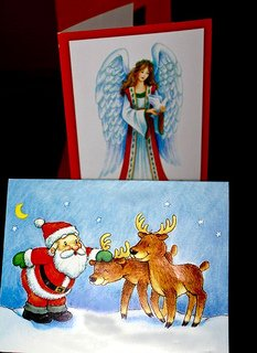 Christmas Card Etiquete