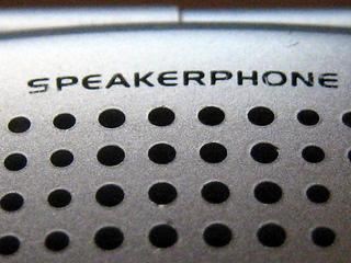 Speakerphone etiquette tips