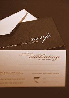 wedding invitation response etiquette